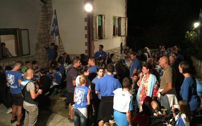 Sabato cannetino. Il 9 giugno sbandierate e tiro con l'arco al Canneti Village, poi cena in sede