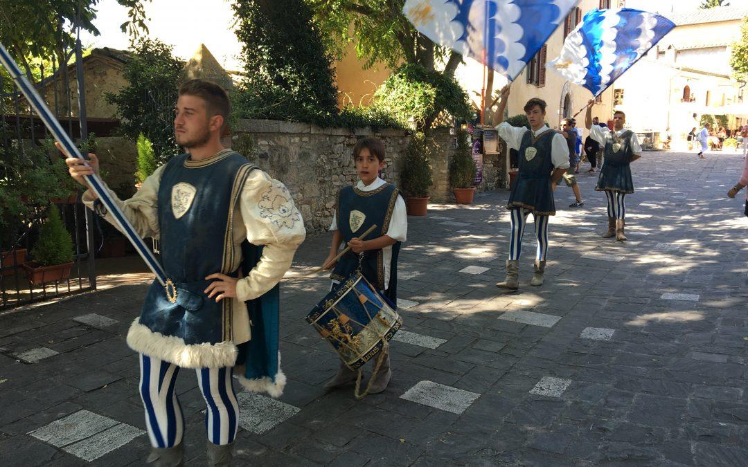 Canneti a Bagno Vignoni per promuovere il Barbarossa. Assenti Borgo e Prato