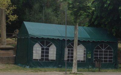 Apre il campeggio a San Quirico. Ancora liberi qualche piazzola e bungalow