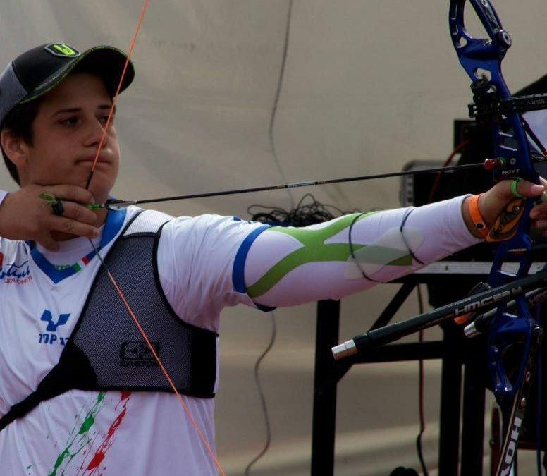Federico superstar. Con le sue frecce porta l'Italia alle Olimpiadi Giovanili 2018