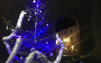 Il Natale è bianco e azzurro. Domenica 17 dicembre, in sede, il Pranzo degli Auguri