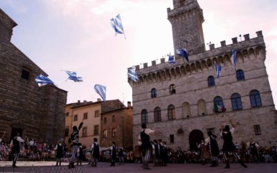 Canneti in Piazza Grande a Montepulciano. Visti dall'obiettivo di Fabio Bibiani