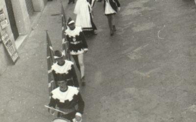 7 giugno 1964, orgoglio cannetino. In quel Barbarossa la prima gara di bandiere in Italia e al mondo