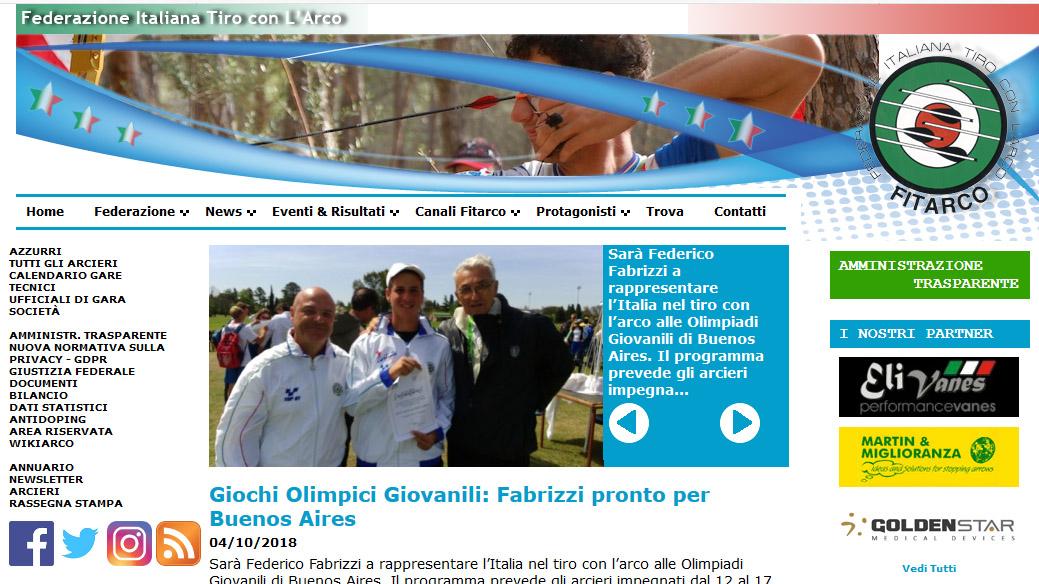 Fitarco Italia Org Gare Calendario.Forza Federico Facciamo Il Tifo Per Te Da San Quirico A