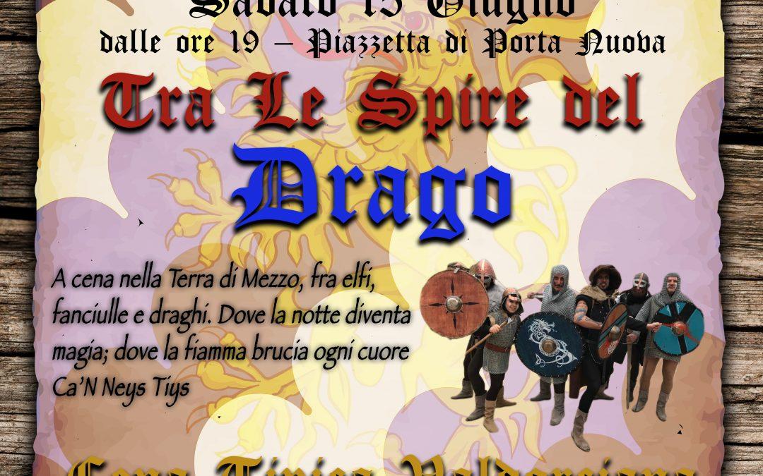 Tra le Spire del Drago. La grande serata a Porta Nuova di sabato 15 giugno per il Barbarossa 2019