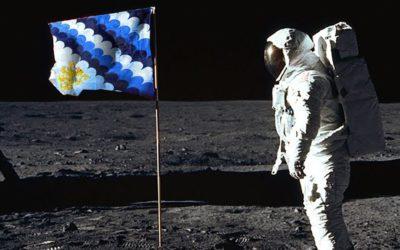 Un piccolo passo per il Dragone un grande passo per l'umanità. Buon 50esimo anniversario uomo sulla Luna