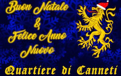 Buon Natale e felice anno nuovo dal Quartiere di Canneti