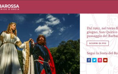 Promozione per il Barbarossa. Benvenuto al nuovo sito ufficiale della Festa, online domenica 21 giugno