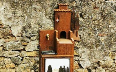 Al giardino Nilde Iotti installata la fontanina del Castello realizzata da Mario Ferretti