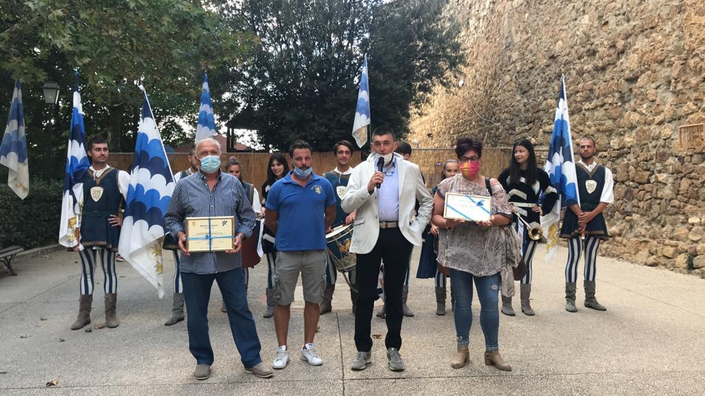 Covid-19, il riconoscimento dei Canneti a Misericordia e Auser San Quirico – FOTOGALLERY